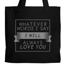 Cure Always Love You Tote