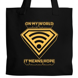 Wifi Means Hope Tote