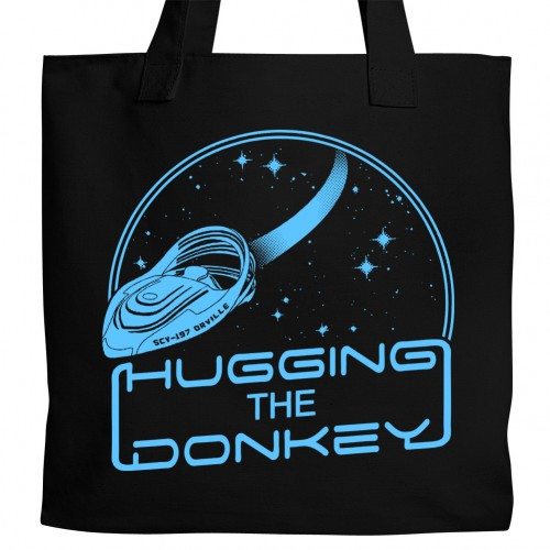 Hugging the Donkey Tote