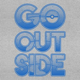 Pokemon GO OUTSIDE