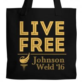 Gary Johnson Live Free Tote