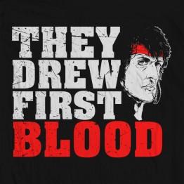 Drew First Blood
