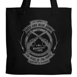 W&S Right to Bear Arms Tote