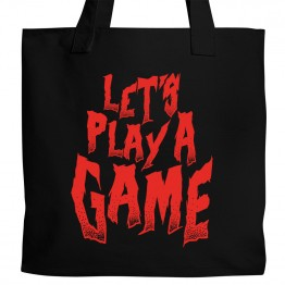Let's Play a Game Tote