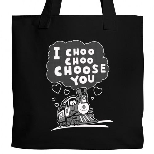 I Choo Choo Choose You Tote