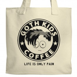 Goth Kids Coffee Tote