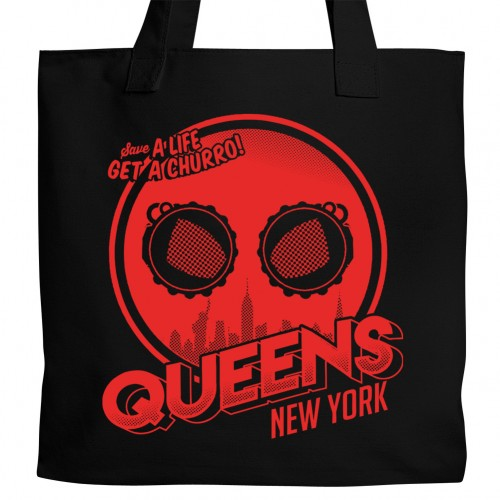 Spiderman Queens NY Tote