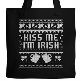 Kiss Me I'm Irish Tote