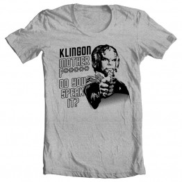 Klingon, do you speak it?