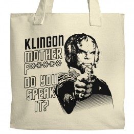 Klingon, do you speak it? Tote