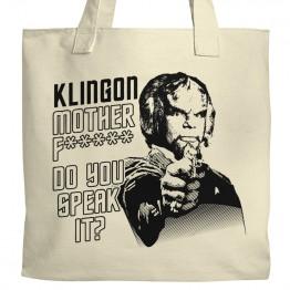 Klingon, do you speak it? Tote