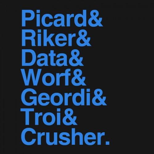 Trek TNG Names