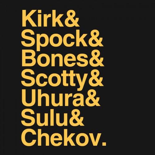 Trek TOS Names