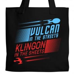 Vulcan / Klingon Tote