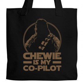 Chewie is my Co-Pilot Tote
