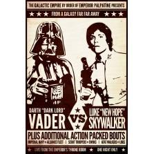 Vader VS Skywalker Poster