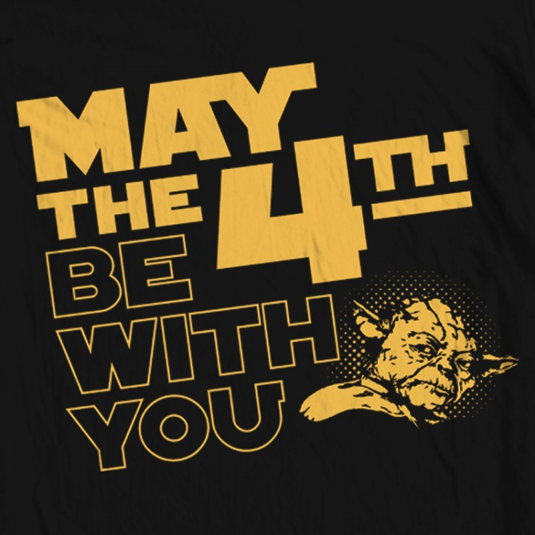 May The 4th Be With You Merchandise: May The 4th Yoda