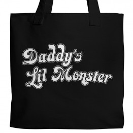 Daddy's Lil Monster Tote