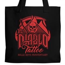 El Diablo Tattoo Tote