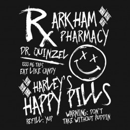 Harley Quinn Happy Pills