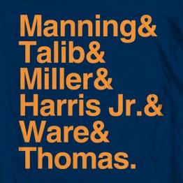 Broncos Names