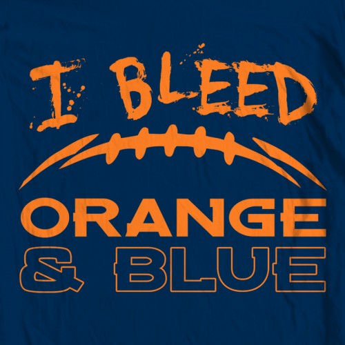 Bleed Orange and Blue