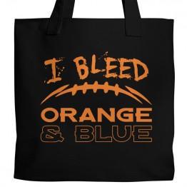 Orange and Blue Tote