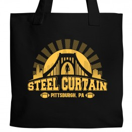 Pittsburgh Steel Curtain Tote