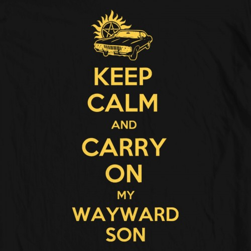 Supernatural Keep Calm