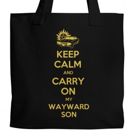 Supernatural Keep Calm Tote