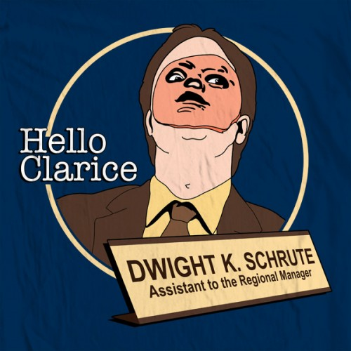 Dwight Hello Clarice