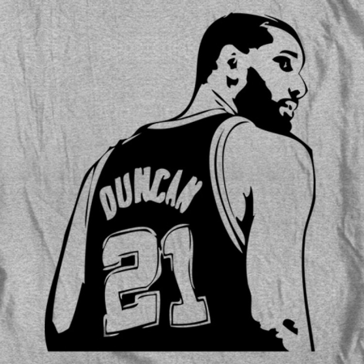 duncun coloring pages | Tim Duncan - Spurs