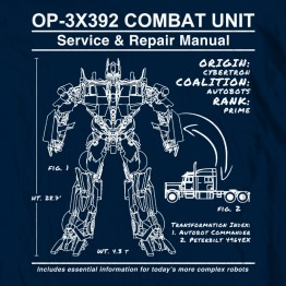 Optimus Prime Manual