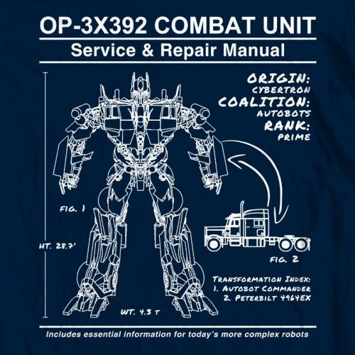 Optimus Prime Manual