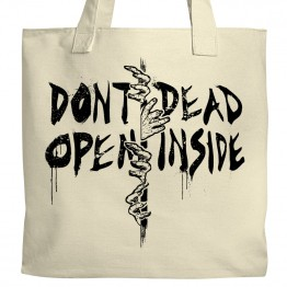 Don't Open, Dead Inside Tote