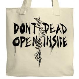 Don't Open, Dead Inside Tote