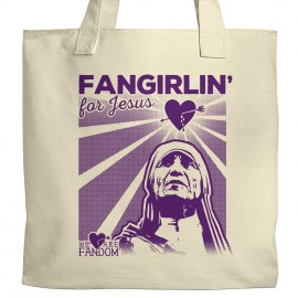 Fangirlin' For Jesus Tote