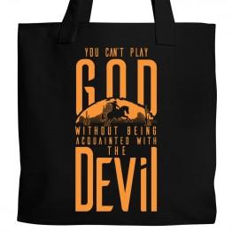 Westworld God & Devil Tote