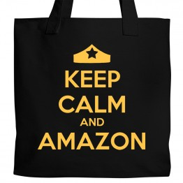 Keep Calm and Amazon Tote