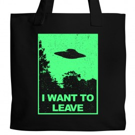 I Want to Leave Tote