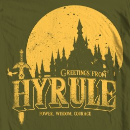 Zelda Greetings From Hyrule