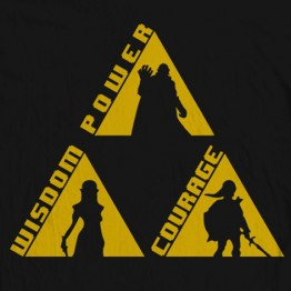 "Zelda Triforce ""Words"""
