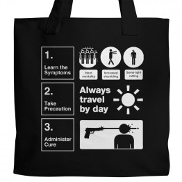 Zombie Instructions Tote