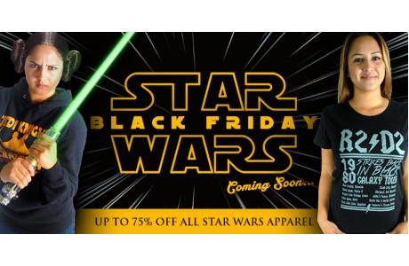 Star Wars Black Friday Event at Mixedtees.com