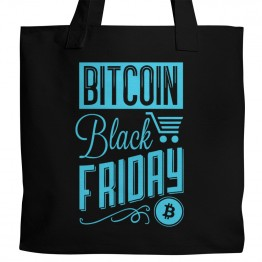 Bitcoin Black Friday Tote