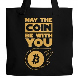 Bitcoin Star Wars Tote