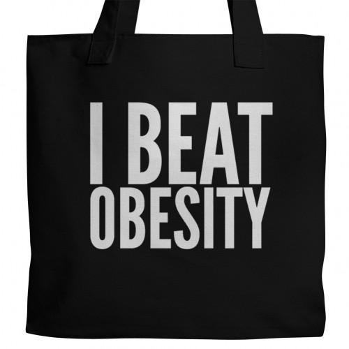 I Beat Obesity Tote