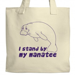 Stand By Your Manatee Tote