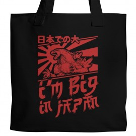 Godzilla Big in Japan Tote