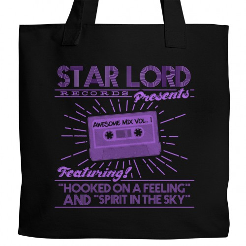 GotG Star Lord Records Tote